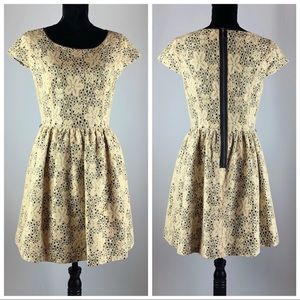 Kensie Lace Overlay Dress